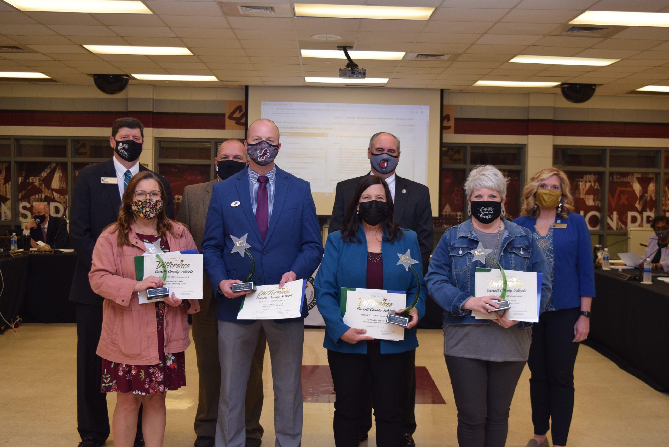 Carroll County STEM Scholar Awards 031821 1