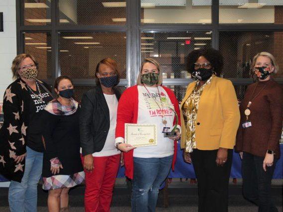 FY 20 Georgia STEM Scholar Award Recipient from Brooks County  Mrs. Amanda Shafer Brooks County Middle School